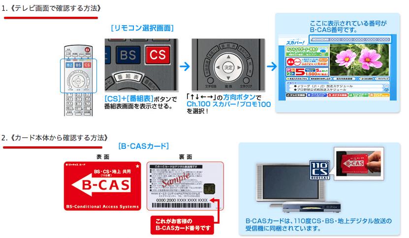 B-CASカード番号の入力 2016-07-02 11-30-03