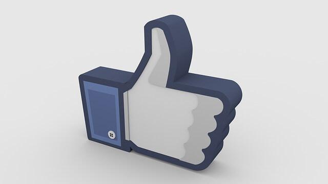 Facebookページ名でいいね