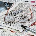 新聞の折込チラシ