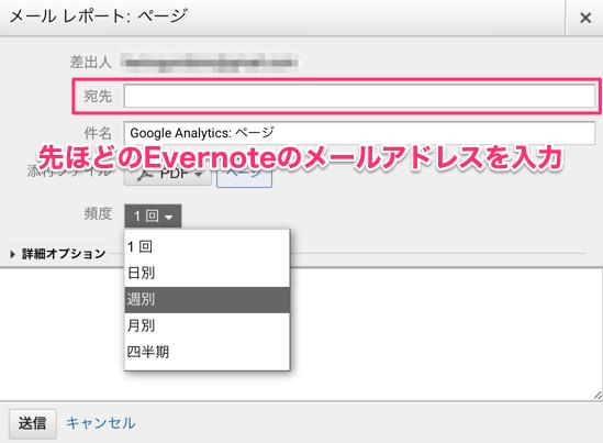 evernote google analytics