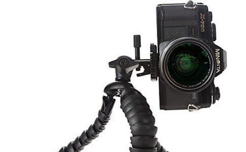 KCOOL スマホスタンド 三脚 スマホ三脚 カメラ三脚 360度回転 小型 軽量 水準器付き