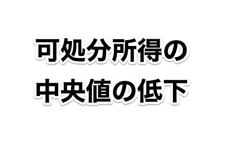 【日本は貧しくなっている】20年前の可処分所得の中央値が52万円も下方へ