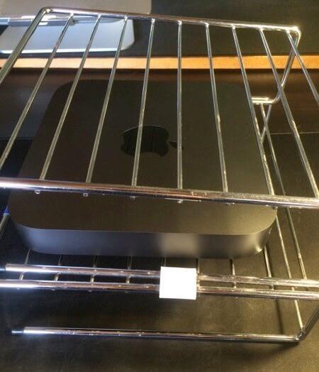 mac mini 排熱対策