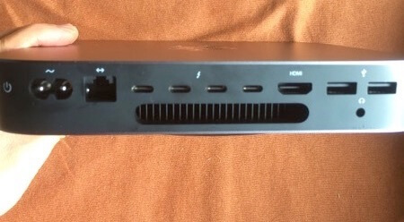 mac mini 2018 usb