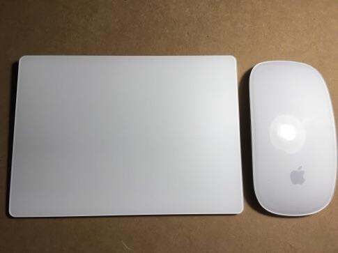 Magic Mouse Magic Trackpad2 使いやすさ