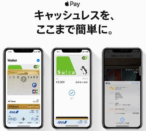 Apple Pay 使い方