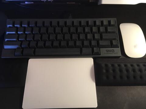 Magic Trackpad Magic Mouse 配置