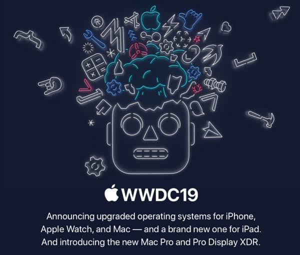 Mac Pro、iPadOS、iOSのダークモードなどが発表@WWDC 2019
