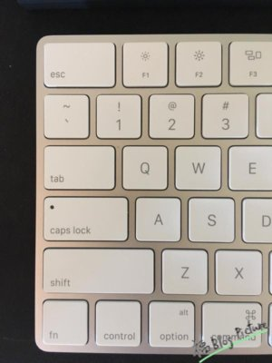 Magic Keyboard caps lock
