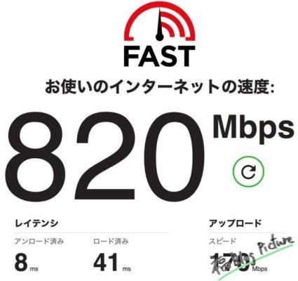 TP-Link Archer A10 通信速度