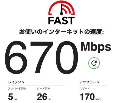 iMac LANケーブル 通信速度