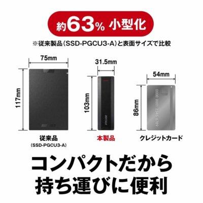 SSDのサイズが小さくなっている