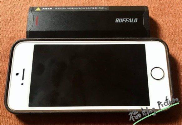 BUFFALO USB3.1(Gen2)対応 ポータブルSSD 500GB ブラック SSD-PH500U3-BA